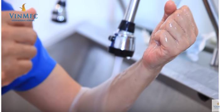 Ý nghĩa của rửa tay ngoại khoa