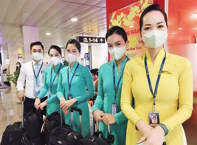 biện pháp phòng ngừa virus corona cho nhân viên hàng không