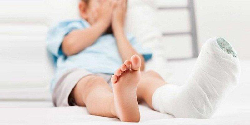 chấn thương mô mềm ở trẻ