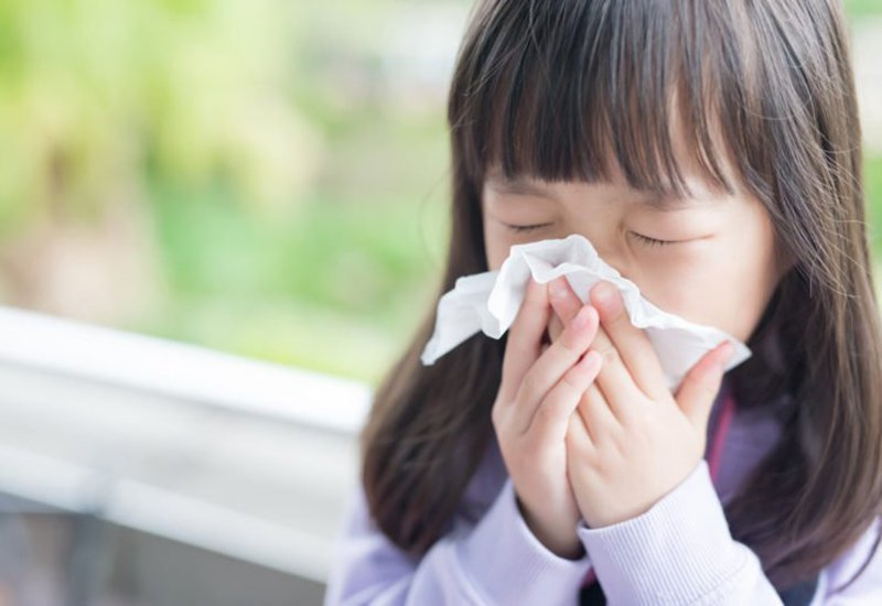 làm gì khi trẻ bị cúm
