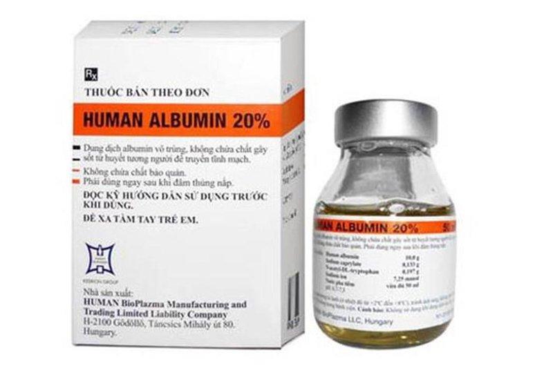 thuốc Albumin