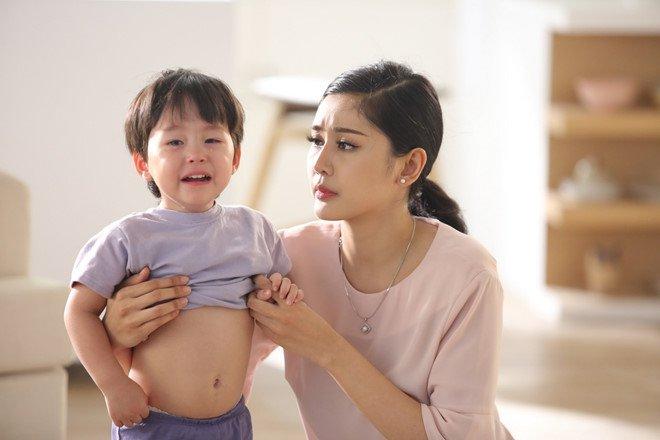 Trẻ đau bụng