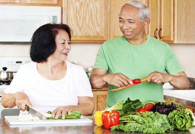 dinh dưỡng người già