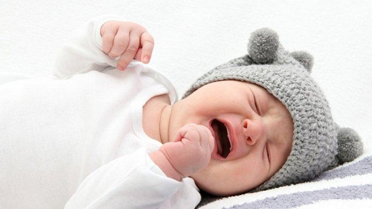 Trẻ sơ sinh khó ngủ