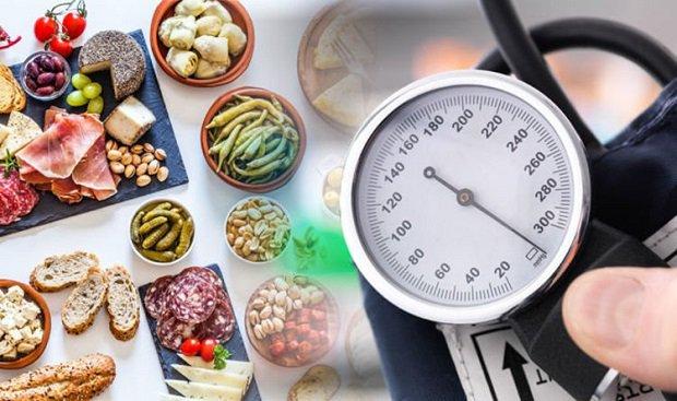 Chế độ ăn tăng huyết áp