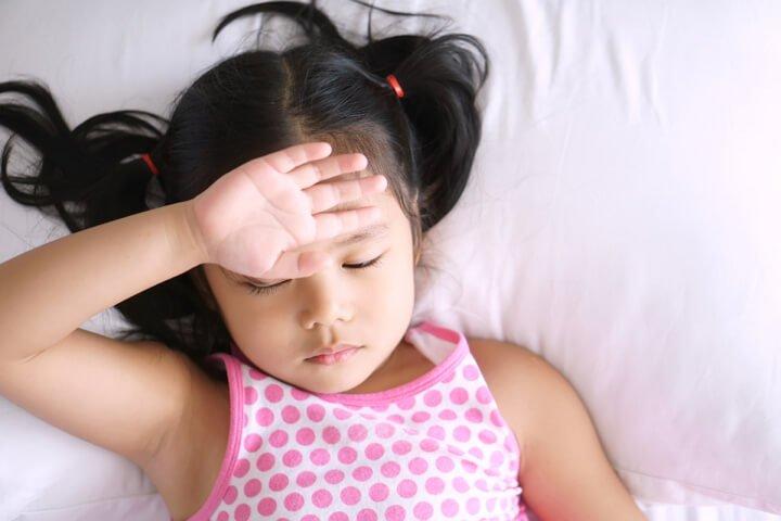Trẻ mệt mỏi, trẻ lớn , trẻ ốm,