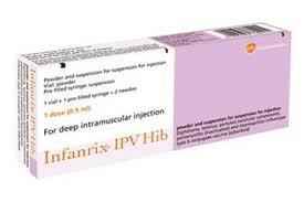 vắc xin Infanrix-IPV/Hib