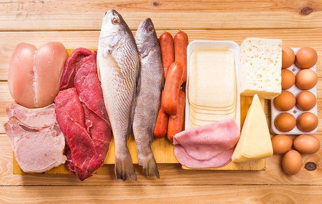 Thực đơn cần đầy đủ các chất dinh dưỡng