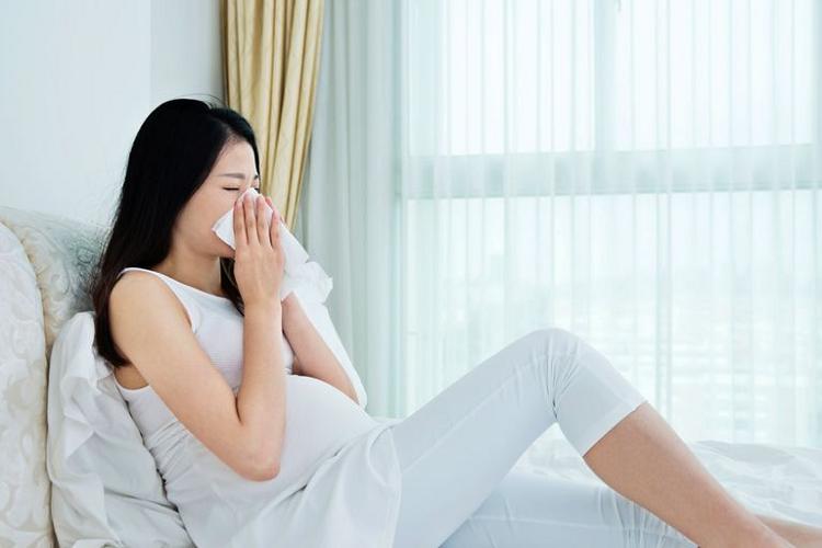 Sổ mũi, hắt hơi khi mang thai