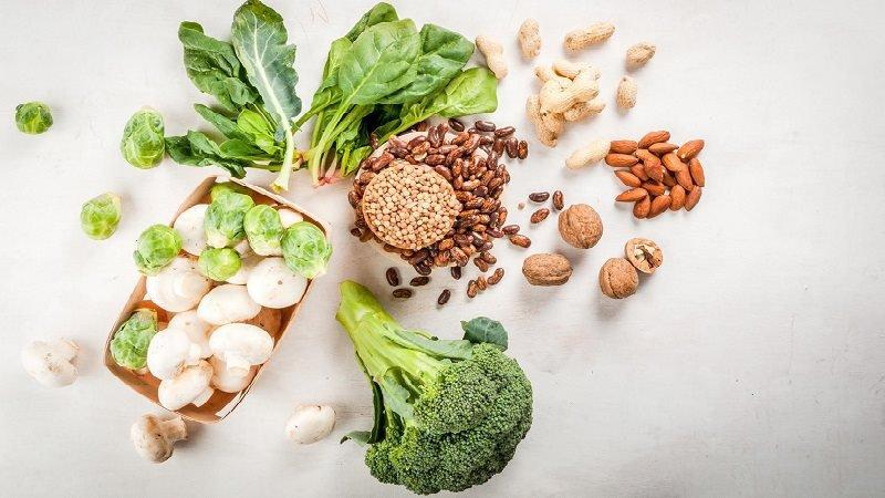 Rau củ quả thực vật ăn chay