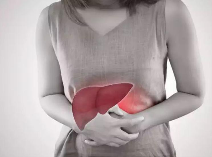 đau gan , đau bụng vùng gan