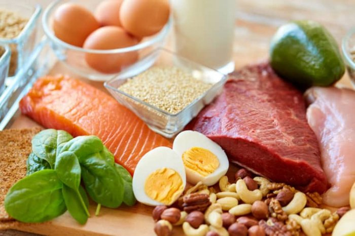 Thực phẩm giàu protein tốt cho việc giảm mỡ bụng