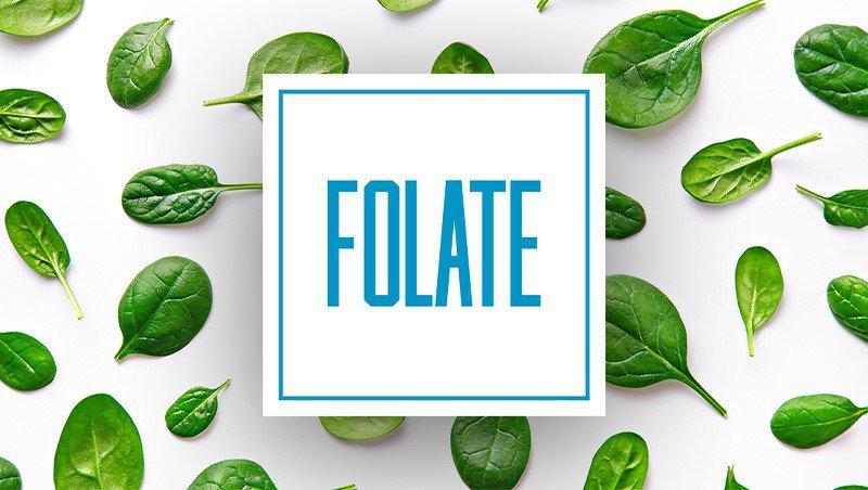 Acid folic tồn tại trong các loại thực phẩm tự nhiên dưới dạng folate.