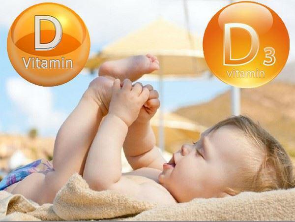 Trẻ sơ sinh có nhu cầu vitamin D rất nhiều