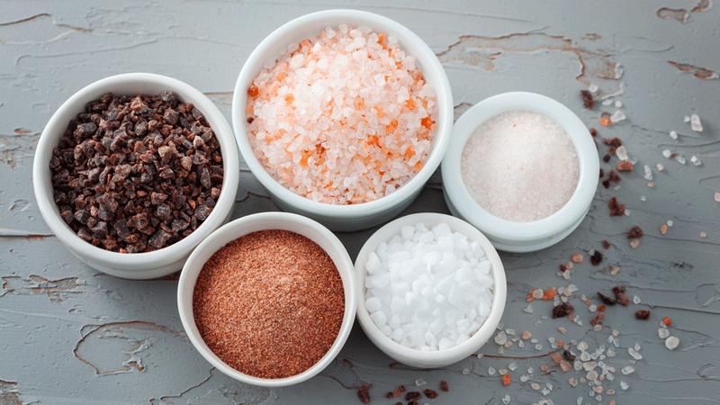 Mỗi loại muối sẽ có màu sắc và hương vị khác nhau