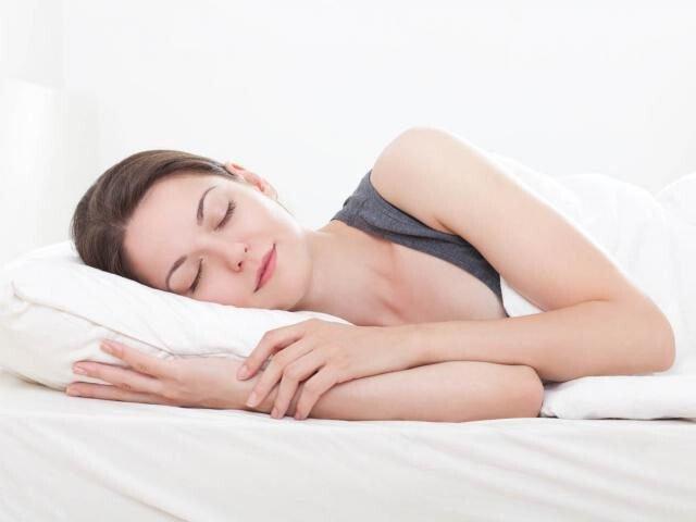 Nằm ngủ nghiêng