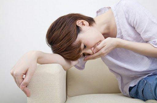 Khi bệnh nhân buồn nôn cần dừng tập ngay lập tức