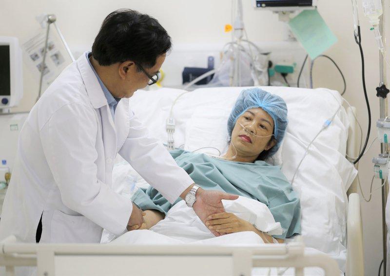 Vinmec Nha Trang can thiệp túi phình động mạch não vỡ