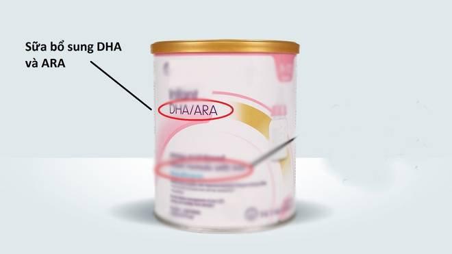 bổ sung DHA và ARA vào các sữa công thức cho trẻ sơ sinh
