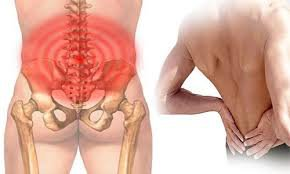 Đau lưng gần xương chậu
