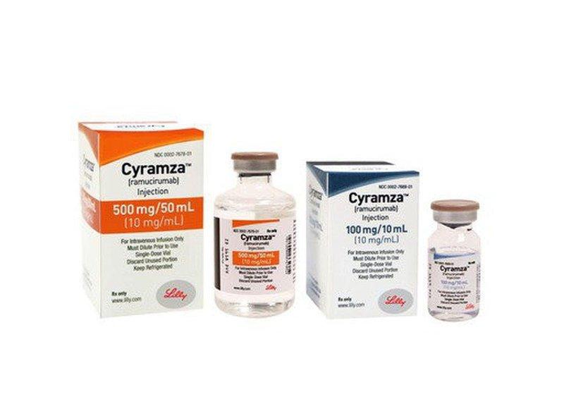 Hiệu quả của ramucirumab trong điều trị ung thư di căn