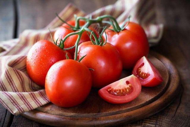 Hàm lượng Lycopene có trong cà chua rất lớn