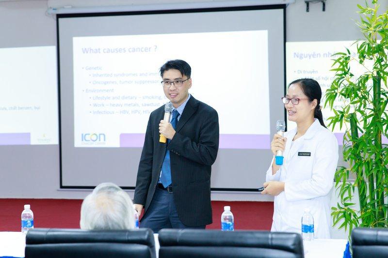 Vinmec phối hợp với Tập đoàn ICON (Úc) hội thảo trực tuyến về điều trị ung thư đại trực tràng