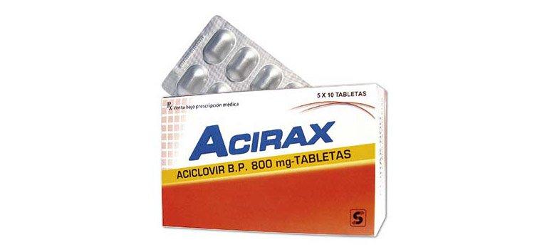 Thuốc acirax 800
