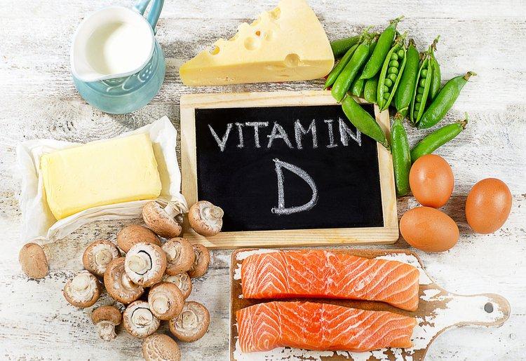 Bổ sung vitamin D thông qua chế độ dinh dưỡng