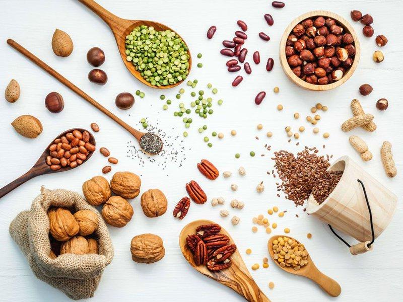 Ngũ cốc nguyên hạt chứa nhiều vitamin và dưỡng chất tốt cho mẹ và bé