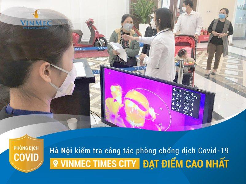 Vinmec đứng đầu công tác PC Covid-19