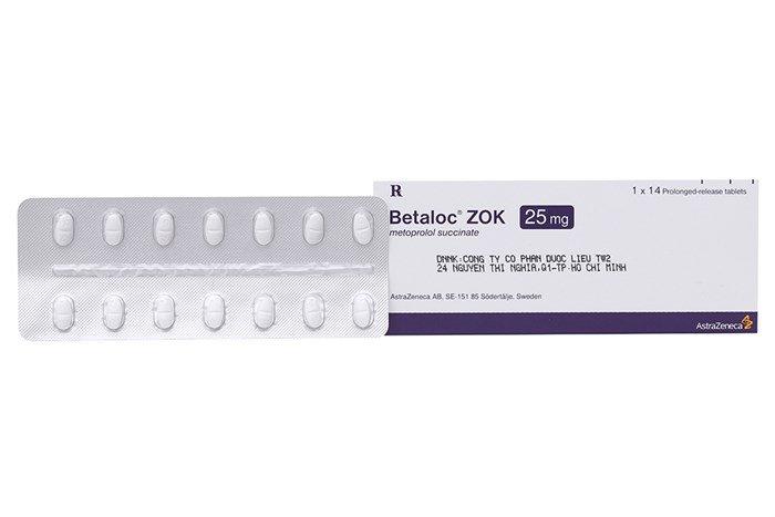thuốc betaloc zok 25mg