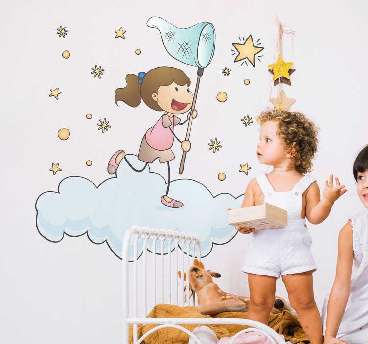Trẻ có thể nghĩ rằng đứng được trên một đám mây như trong phim hoạt hình nhưng thực tế thì không