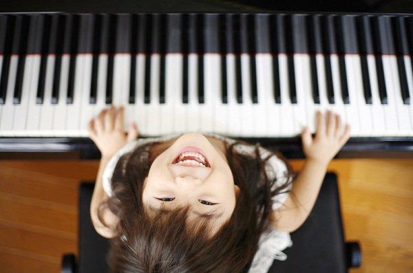 trẻ học nhạc