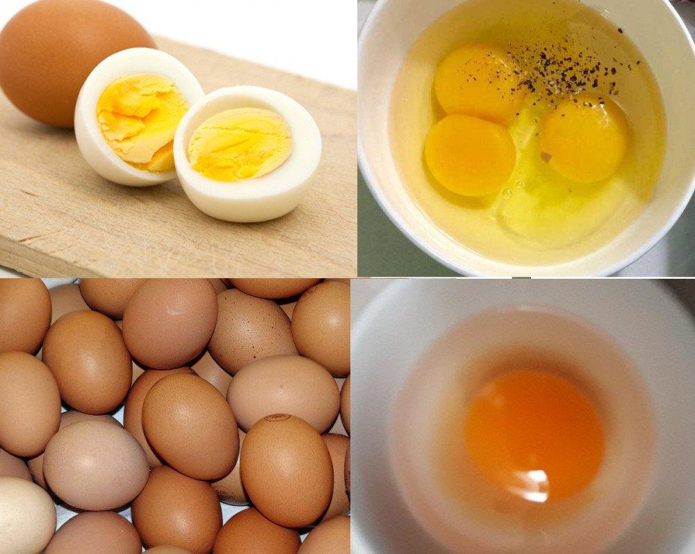 cholesterol trong lòng đỏ trứng tương đối cao