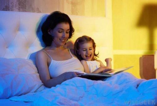 kể chuyện cho trẻ trước khi ngủ