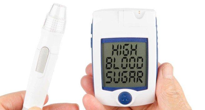 Lượng đường trong máu tăng