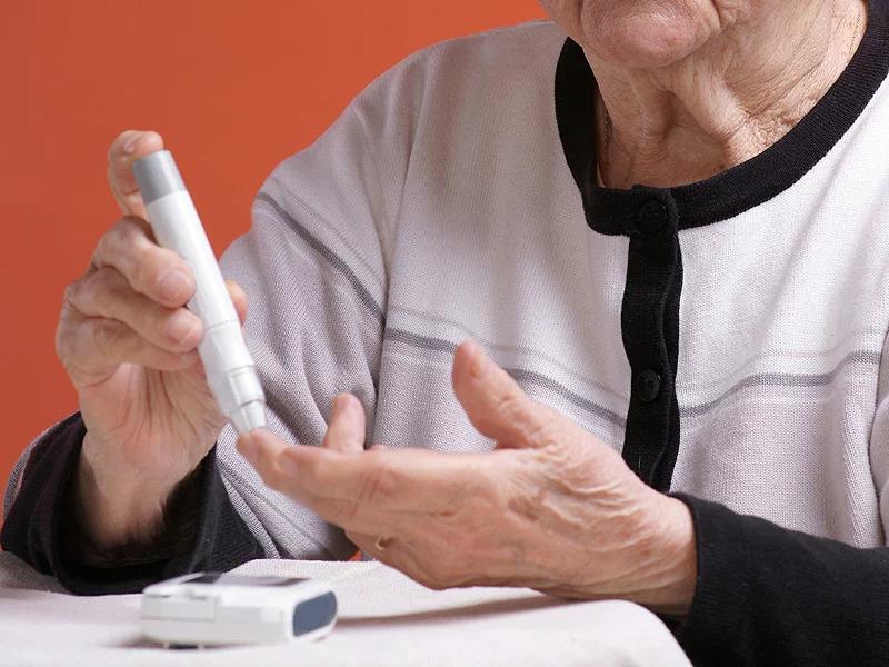Tiểu đường ở người cao tuổi
