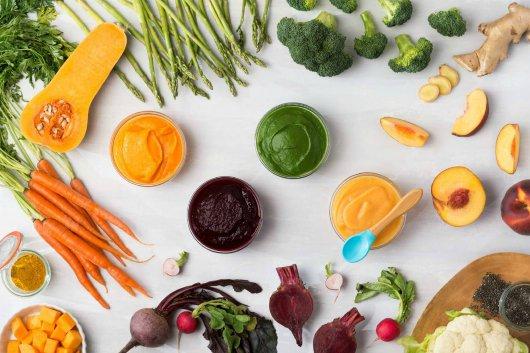 Các loại rau củ tốt cho chế độ ăn dặm của trẻ