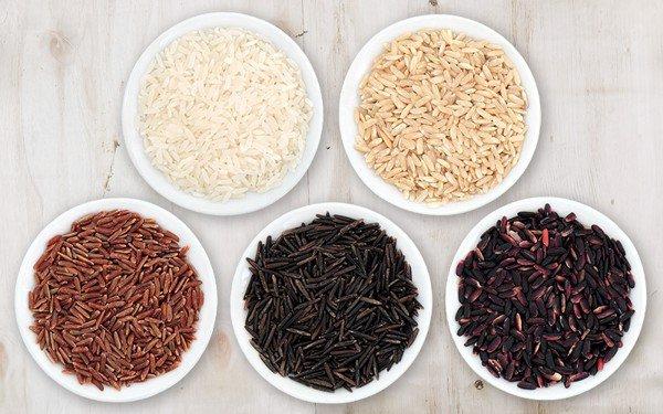 Hàm lượng giá trị dinh dưỡng của các loại gạo