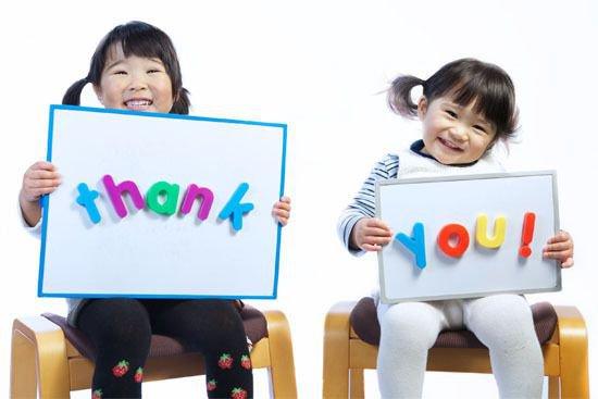 Biết nói lời cảm ơn và xin lỗi là bài học đầu tiên trẻ cần được dạy