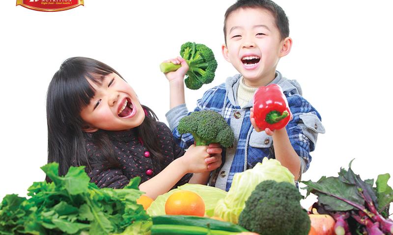 Cách khuyến khích trẻ ăn rau