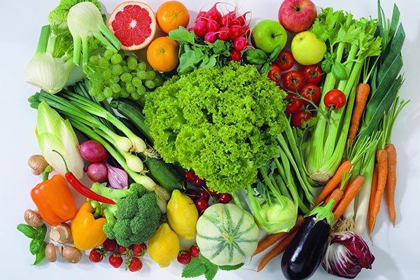 Chế độ ăn nhiều rau