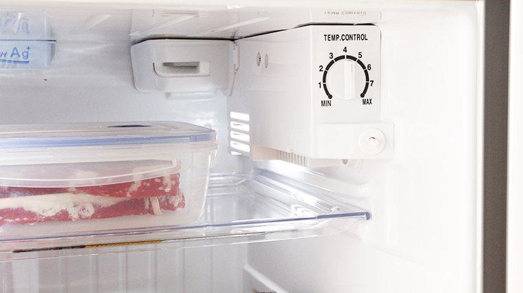 bảo quản thịt bò trong tủ lạnh