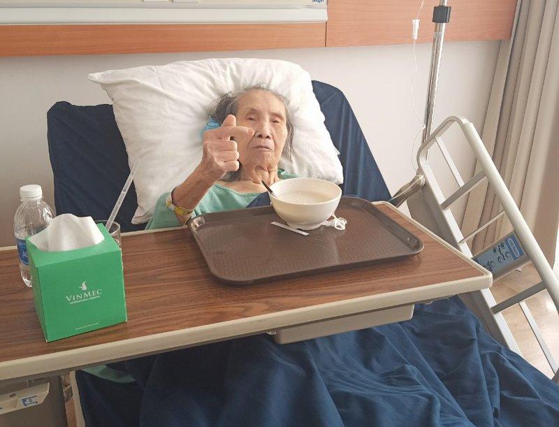 Cụ già gãy xương nặng được cứu sống tại Vinmec