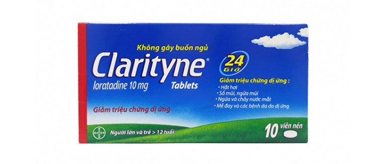Thuốc dị ứng Claritin