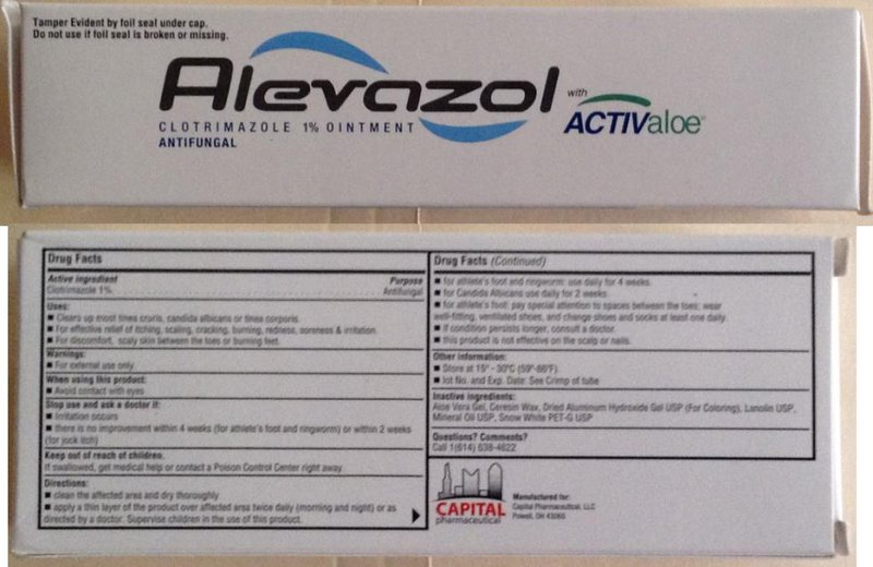 Thuốc bôi da Alevazol