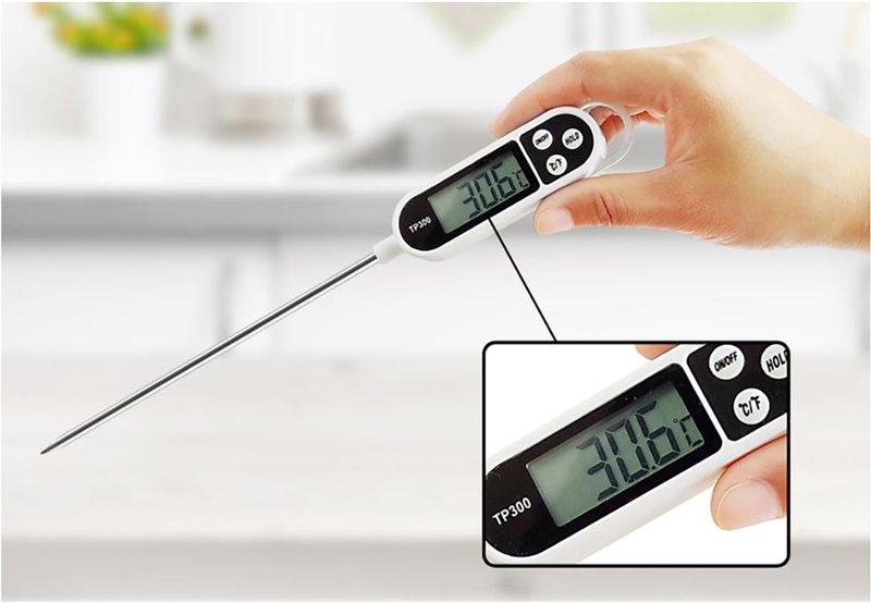 nhiệt kế thường được dùng trong nấu ăn