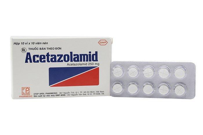 Thuốc Acetazolamide