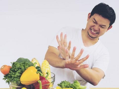 không ăn rau